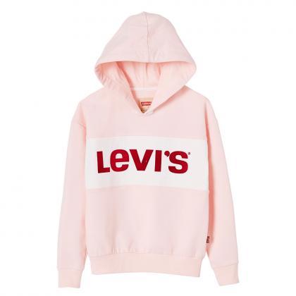 Levi's Retro Hoodie Monaco mit Logo - rosa