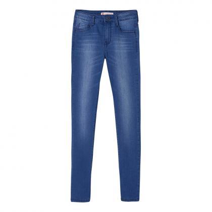 Levi's 721 High-Rise Skinny Jeans - blau