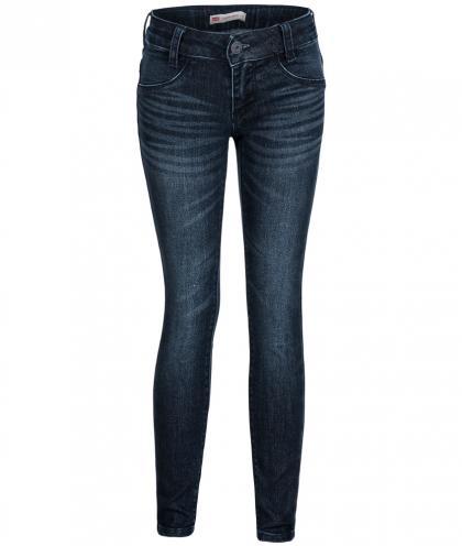 Levis 710 Super Skinny Jeans mit Glitzer in blau