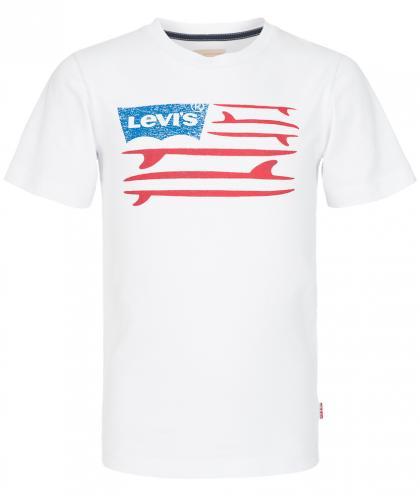 Levis Shirt mit Print und Logo in weiss