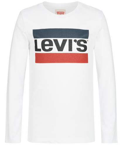 Levi´s exclusiv Retro-Langarmshirt in weiss