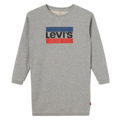 Levi's Longpulli Bondues mit Hero Logo und Lurex in grau