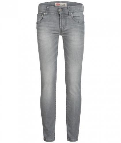 Skinny Jeans 510 in grau