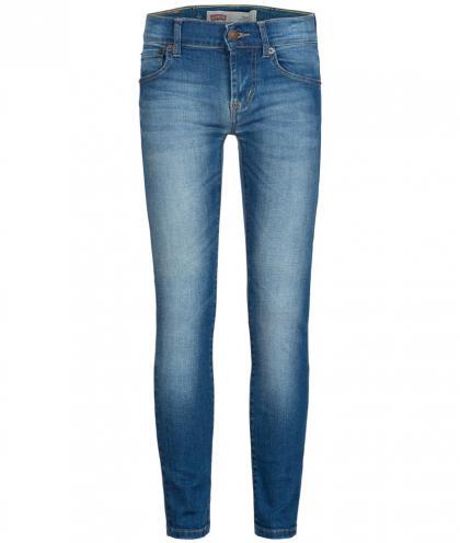 Skinny Jeans 510 in blau