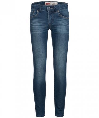Skinny Jeans 510 in dunkelblau