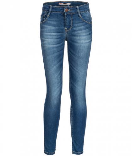 Skinny Jeans 711 in blau