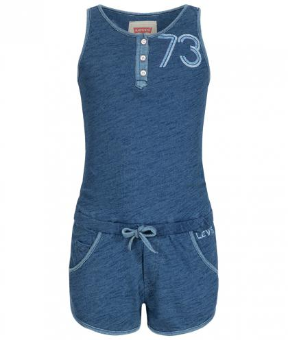 Overall in blau