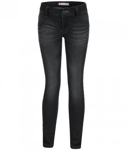 Levis 710 Super Skinny Jeggings in schwarz