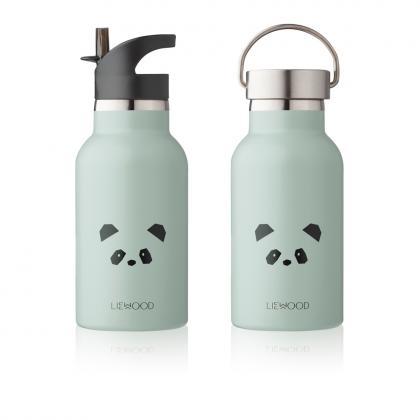 Liewood Anker steel water bottle Panda - mint
