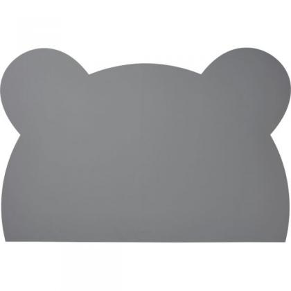 Liewood Casey mat of silicone - Mr. Bear stone grey
