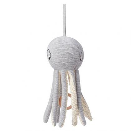 Liewood Angela Mobile Octopus grey aus 100% organischer Baumwolle