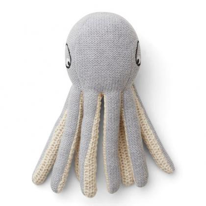Liewood Ole Octopus aus 100% organischer Baumwolle - grau