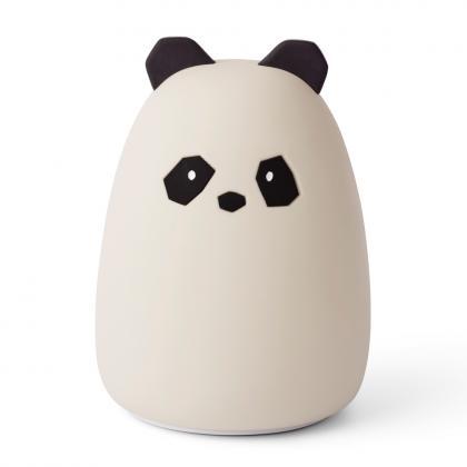 Liewood aufladbares Nachtlicht Winston Panda - creme de la creme