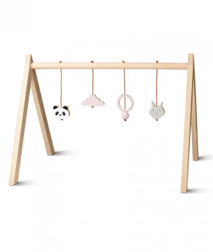 Liewood playgym made of beech wood - rose
