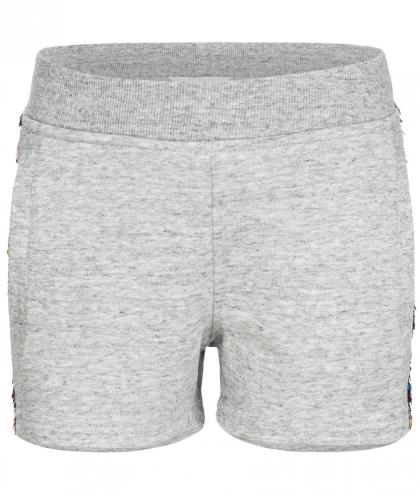 Little Marc Jacobs Sweat-Shorts mit Pailletten in grau