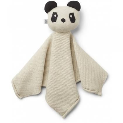 Liewood Milo Panda aus 100% organischer Baumwolle - beige beauty