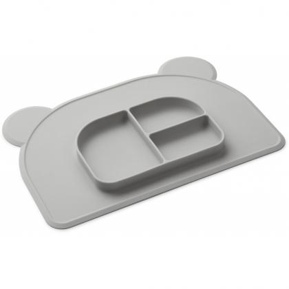 Liewood Oliver placemat of silicone - Dumbo grey