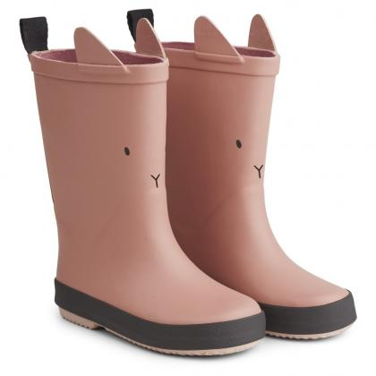 Liewood rain boots Rio made of natural rubber - Cat rose