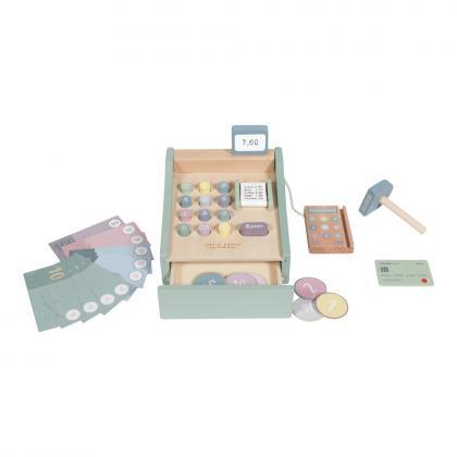 Little Dutch Holz Spielkasse mit Scanner -  mint