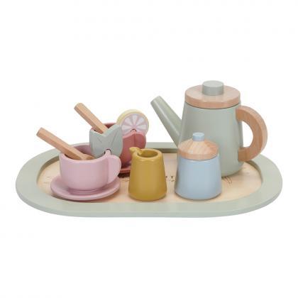 Little Dutch Holz Tee Service, 12-tlg. - bunt