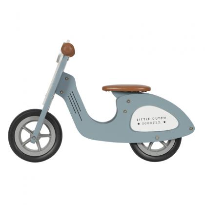 Little Dutch Holz Laufrad -  blau