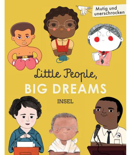 Little People, BIG DREAMS Geschenkbox mit 6 Bändern