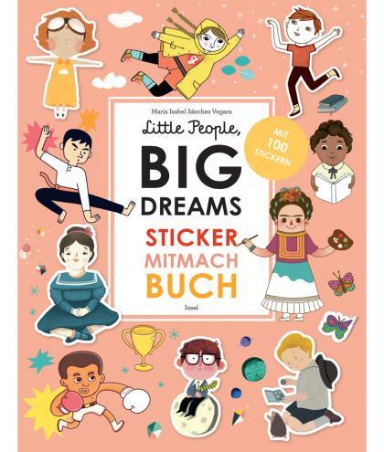 Little People, BIG DREAMS Sticker-Mitmach-Buch - multi