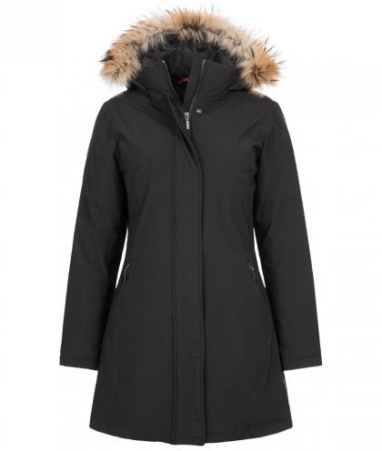 Mc Ross Nice down parka with real fur in black