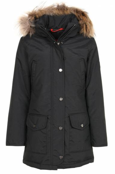 Mc Ross Quebec Teflon Daunenparka in schwarz
