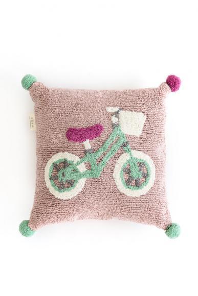 Minividuals Kissen Biker - 50 x 50cm