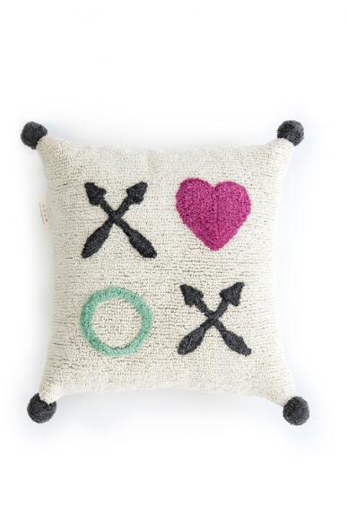 Minividuals pillow xoxo heart - 50 x 50cm