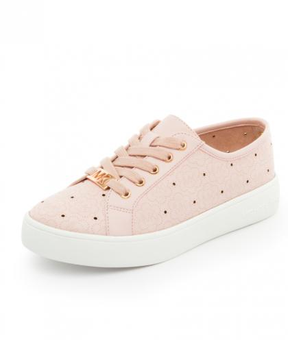 Michael Kors Sneaker Ivy mit Lochmuster - rosa