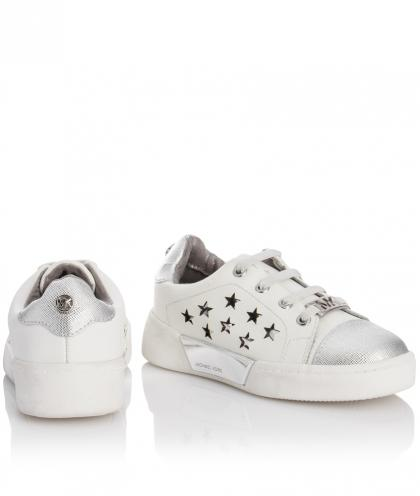 Michael Kors Sneaker Guard mit Sternen - weiß