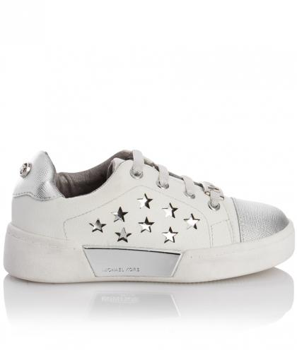 Michael Kors Sneakers guard with stars - white