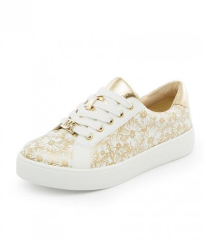 Michael Kors Sneaker Ivy mit Blumenprint -  weiß
