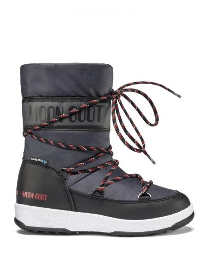 Moon Boots JR Boy Sport in dunkelgrau