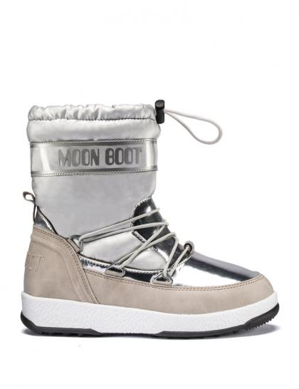 Moon Boots JR Girl Soft in silber
