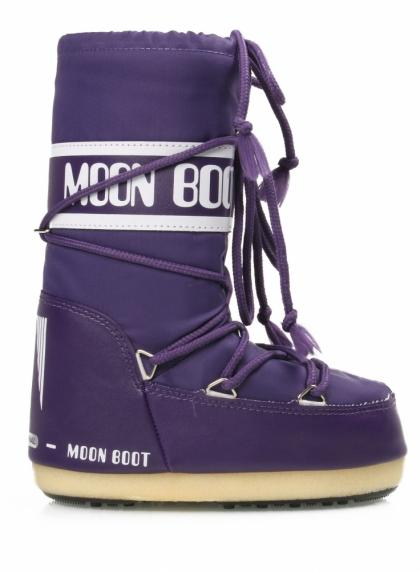 Kids Stiefel Nylon in violett