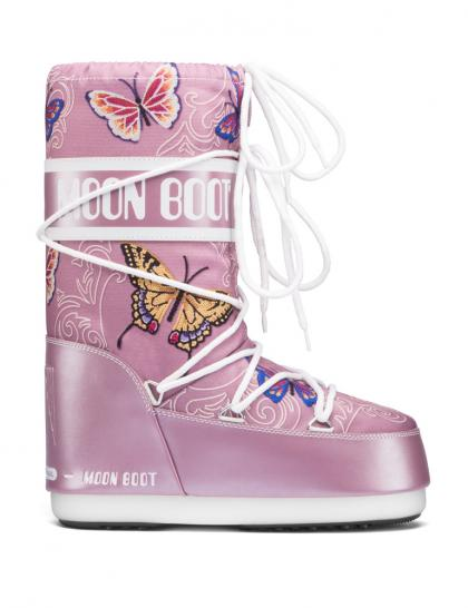 Moon Boot Kids Winterschuh Butterfly in rosa