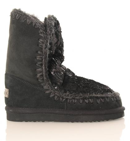 Mou Eskimo 24 Limited Edition with sequins in black