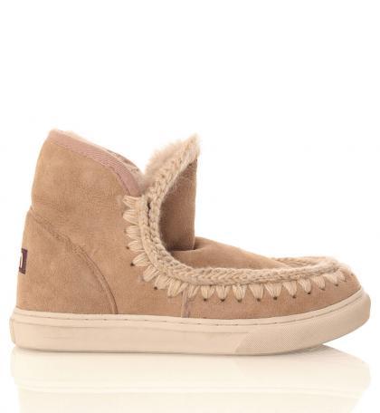 Mou Mini Eskimo Sneaker in camel