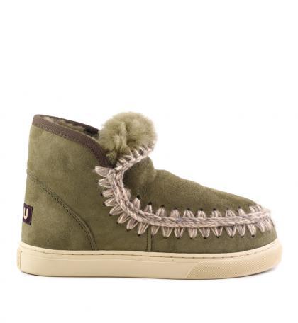 Mou Eskimo Sneaker in oliv