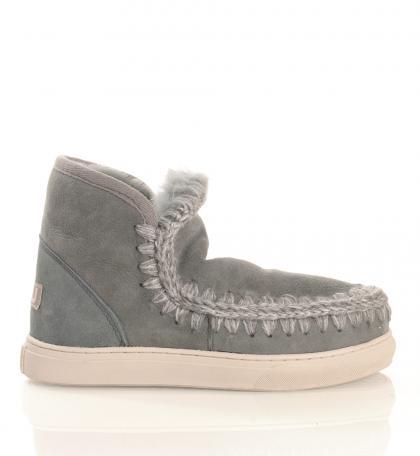 Mou Eskimo Sneaker in grau-sage