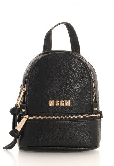 MSGM Rucksack in schwarz