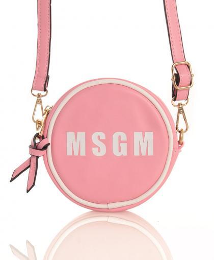 MSGM runde Umhängetasche in rosa