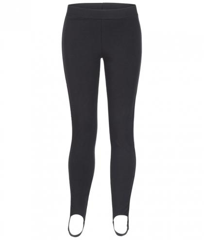 MSGM Leggins mit Track Stripes in schwarz