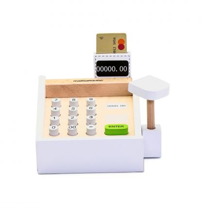 MaMaMeMo wooden cash register - multi
