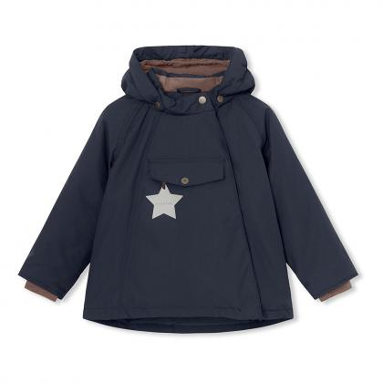 Mini A Ture Funktions Winterjacke Wang - dunkelblau