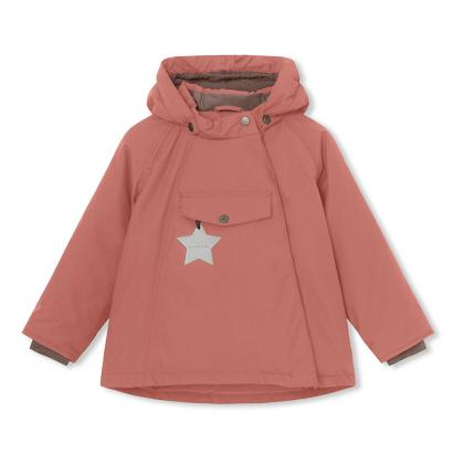 Mini A Ture Funktions Winterjacke Wang - rosa