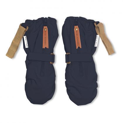 Mini A Ture fleece lined gloves cesar - dark blue